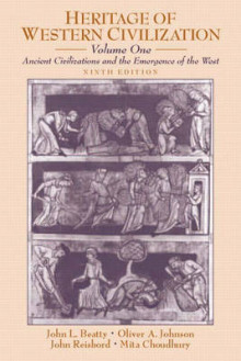 Heritage of Western Civilization: Ancient Civilizations and the Emergence of the West v. 1 av John Louis Beatty, Oliver A. Johnson, John Reisbord og Mita Choudhury (Heftet)