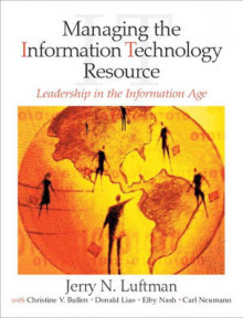Managing the Information Technology Resource av Jerry N. Luftman (Innbundet)