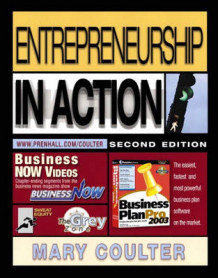 Entrepreneurship in Action av Mary A. Coulter (Heftet)