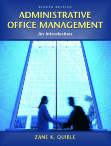 Administrative Office Management av Zane K. Quible (Heftet)