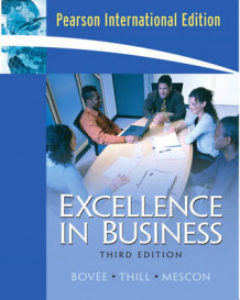 Excellence in Business av Courtland L. Bovee, John V. Thill og Michael H. Mescon (Heftet)