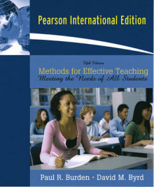 Methods for Effective Teaching av Paul Burden og David M. Byrd (Heftet)