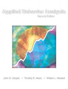 Applied Behavior Analysis av John O. Cooper, Timothy E. Heron og William L. Heward (Innbundet)