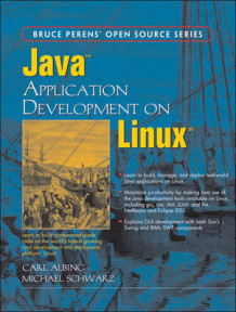 Java Application Development on Linux av Carl Albing og Michael Schwarz (Heftet)