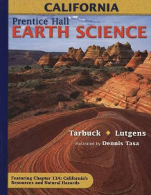 Earth Science, California av Edward J Tarbuck (Innbundet)