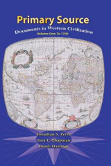 Omslag - Primary Sources in Western Civilization: Volume 1