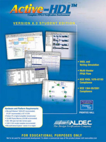 Active-HDL 6.3 av Inc Aldec (CD-ROM)