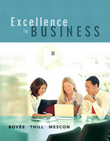 Excellence in Business av John V. Thill, Courtland L. Bovee og Michael H. Mescon (Innbundet)