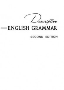 Descriptive English Grammar av Susan Emolyn Harman og Homer C. House (Heftet)