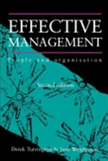Effective Management av Derek Torrington og Jane Weightman (Heftet)