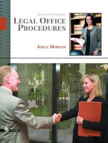 Legal Office Procedures av Joyce Morton (Innbundet)