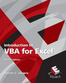 Introduction to VBA for Excel av Steven C. Chapra (Heftet)