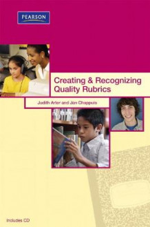 Creating & Recognizing Quality Rubrics av Judith A. Arter og Jan Chappuis (Heftet)