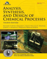 Omslag - Analysis, Synthesis and Design of Chemical Processes