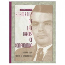 Elements of the Theory of Computation av Harry Lewis og Christos H. Papadimitriou (Innbundet)