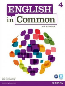 English in Common 4 with ActiveBook av Maria Victoria Saumell og Sarah Louisa Birchley (Heftet)