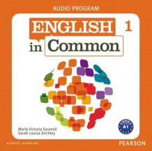 English in Common 1 Class Audio CDs av Maria Victoria Saumell og Sarah Louisa Birchley (Lydkassett)