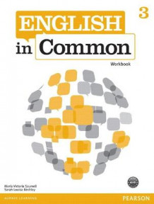 English in Common 3 Workbook: 3 av Maria Victoria Saumell og Sarah Louisa Birchley (Heftet)