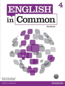 English in Common 4 Workbook: 4 av Maria Victoria Saumell og Sarah Louisa Birchley (Heftet)