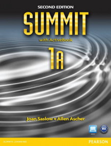 A Summit 1A Split: Student Book with ActiveBook and Workbook av Joan M. Saslow og Allen Ascher (Heftet)