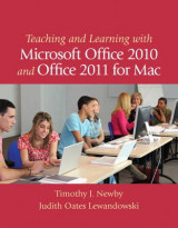Omslag - Teaching and Learning with Microsoft Office 2010 and Office 2011 for Mac