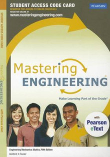 MasteringEngineering with Pearson EText - Standalone Access Card - for Engineering Mechanics av Anthony M. Bedford og Wallace L. Fowler (Blandet mediaprodukt)