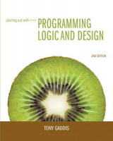 Omslag - Starting Out with Programming Logic and Design