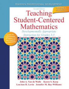 Teaching Student-centered Mathematics av John A. Van de Walle, Lou Ann H. Lovin, Jennifer M. Bay-Williams og Karen S. Karp (Heftet)