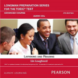 Omslag - Longman Preparation Series for the TOEIC Test: Listening and Reading