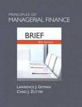 Omslag - Principles of Managerial Finance, Brief Plus New MyFinanceLab with Pearson Etext -- Access Card Package