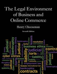 The Legal Environment of Business and Online Commerce av Henry R. Cheeseman (Innbundet)