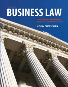 Business Law av Henry R. Cheeseman (Innbundet)