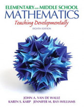 Elementary and Middle School Mathematics av Jennifer M. Bay-Williams, Karen S. Karp og John Van de Walle (Blandet mediaprodukt)