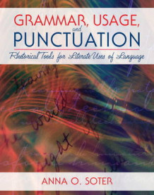 Grammar, Usage, and Punctuation av Anna O. Soter (Heftet)