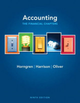 Omslag - Accounting, Chapters 1-15 (financial Chapters) Plus New MyLab with Pearson Etext -- Access Card Package