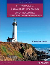 Omslag - Principles of Language Learning and Teaching