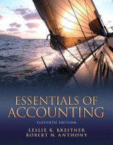 Omslag - Essentials of Accounting Plus New MyAccountingLab with Pearson Etext - Access Card Package