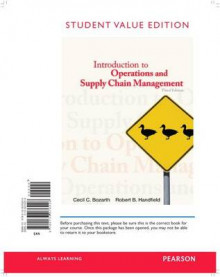 Introduction to Operations and Supply Chain Management, Student Value Edition av Cecil Bozarth og Robert B Handfield (Perm)