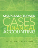 Omslag - Shapland and Turner Cases in Financial Accounting and New MyAccountingLab with Etext -- Access Card Package