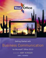 Omslag - Getting Started with Business Communication for Microsoft Office 2013