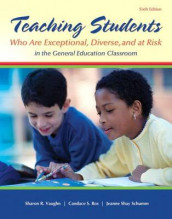 Teaching Students Who Are Exceptional, Diverse, and at Risk in the General Education Classroom, Video-Enhanced Pearson Etext with Loose-Leaf Version -- Access Card Package av Candace S Bos, Jeanne Shay Schumm og Sharon R Vaughn (Blandet mediaprodukt)