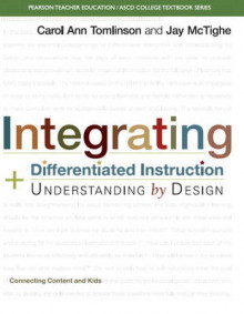 Integrating Differentiated Instruction and Understanding by Design av Jay McTighe, Carol Ann Tomlinson og ASCD (Heftet)