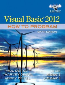 Visual Basic 2012 How to Program av Paul J. Deitel, Harvey M. Deitel og Abbey Deitel (Heftet)