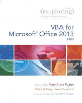 Omslag - VBA for Microsoft Office 2013, Brief