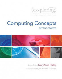Exploring Getting Started with Computing Concepts av Mary Anne Poatsy, Linda Lau og Robert T. Grauer (Heftet)