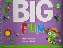 Big Fun 3 Student Book with CD-ROM av Mario Herrera og Barbara Hojel (Blandet mediaprodukt)