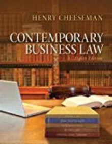 Contemporary Business Law, Student Value Edition av Henry R Cheeseman (Perm)