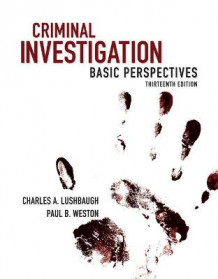 Criminal Investigation av Charles Lushbaugh og Paul Weston (Heftet)