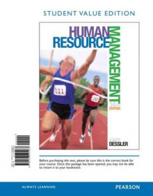 Human Resource Management, Student Value Edition av Gary Dessler (Perm)