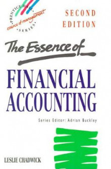 The Essence of Financial Accounting av Leslie Chadwick (Heftet)